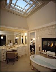 29 Bathrooms with Fireplace - Decorating Ideas