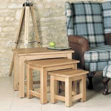 Stunning baumhaus mobel Mobel Oak Loading Product Options 01236 614 797 Baumhaus Mobel Oak Nest Of Coffee Tables