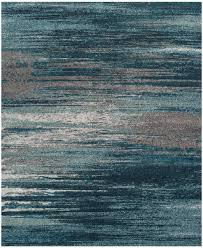 teal blue modern area rugs by dalyn rugs