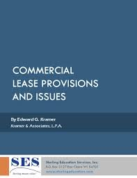 commercial lease provisions default guarantees and remedy clauses