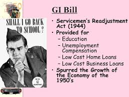 「the g.i. bill of 1944」の画像検索結果