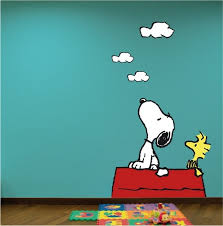 wall decal design adorable snoopy decals for kids on withheart global market snoopy wall decals swi