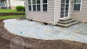 2018 ellicott city md 680 sq ft bluestone patio w 3 beautiful tiered steps backyard