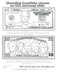 Money Coloring Pages Dollar Bill Coloring Page Money Sheets