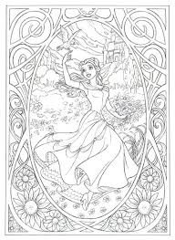 Disney Coloring Page Coloring Pages To Print Out Able Princess