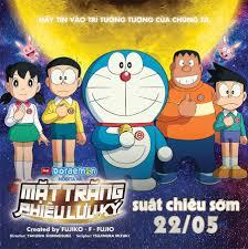Moveek - [NEWS] Doraemon: Nobita và Mặt Trăng Phiêu Lưu Ký...