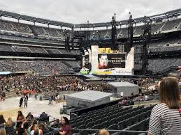 Metlife Taylor Swift Seating Chart Metlife Stadium Section 115a Row 17 Seat 7 Taylor Swift