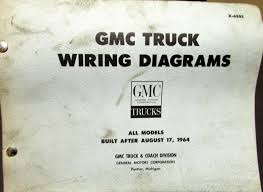 gmc dealer electrical wiring diagram service manual all truck models 1965 gmc dealer electrical wiring diagram service manual all truck models