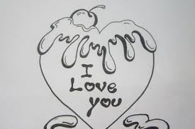 Love Simple Drawing Photos Easy Pencil Drawing About Love Easy
