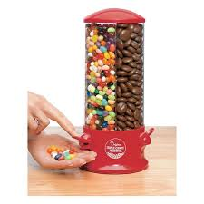 Jelly Bean Vending Machine Fascinating Triple Candy Vending Machine Gumball 48 Compartment MM Snack Jelly