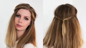 Long Bob 10 Schnelle Und Einfache Stylingvarianten F R Einfache Flechtfrisur Lange Haare