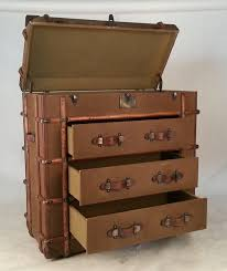 Image of: Stacked Suitcase Furniture