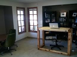 standing desk office. Standing Desk In The Office At Barrett Morgan Design LLC