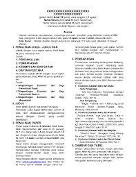 Format Paper Pdf Format Penulisan Paper Arsyal Apriyadi Academia Edu