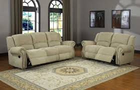 Reclining Living Room Furniture Sets 9708cn Quinn Motion Sofa In Beige Chenille Fabric By Homelegance