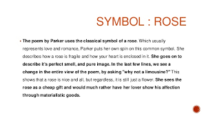 one perfect rose by dorothy parker 12