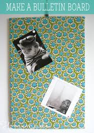 How To Make French Memo Board Make A Bulletin Board Easy Fabric Memo Board Instructions 61