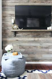 diy wooden accent wall how to create a wood pallet accent wall hunker within idea
