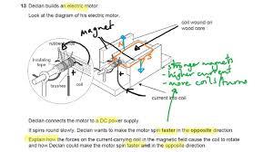 electric motor physics. DC Motors - OCR Gateway P6 Q13 GCSE Physics Revision Electric Motor E