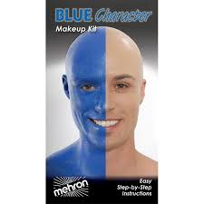 mehron blue character premium makeup kit