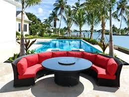 patio furniture round table round outdoor wicker dining sofa set patio furniture choose colors here patio