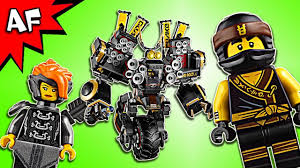 Lego Ninjago Movie: QUAKE MECH 70632 Speed Build - YouTube