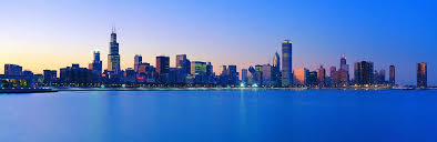 chicago skyline 1 wall decal