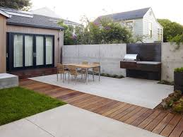 terrace round outdoor flower pots
