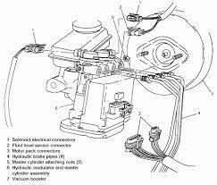 Pontiac sunfire engine diagram repair guides anti lock brake system abs hydraulic modulator