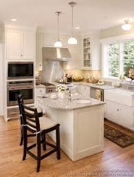 Pictures of Kitchens - Traditional - White Kitchen Cabinets. Love the  island, minus the sink.
