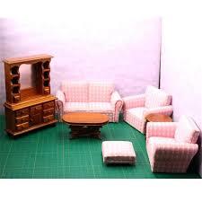 mini furniture sets. Miniature Living Room Furniture K Mini Toy Wooden Doll Sofa Table . Sets