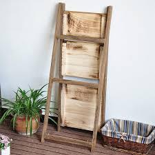 Wooden Ladder Display Stand Wooden ladder shelves wooden display rack wooden display stand 66