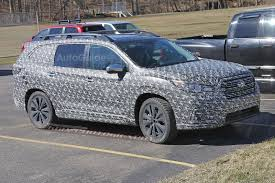 2018 subaru ascent spied.  2018 subaruascentthreerowcrossoverspyphotos08 to 2018 subaru ascent spied o