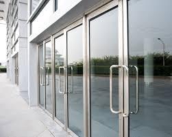 commercial aluminum glass doors