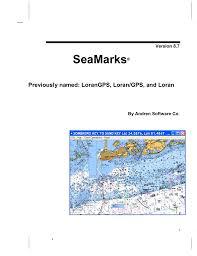 Seamarks Andren Software Co Manualzz Com