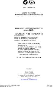 Elite Elt Af S User Manual Users Handbook Elta