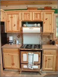 Pine Kitchen Furniture Unfinished Pine Kitchen Cabinets Used Cabinet Home Decorating