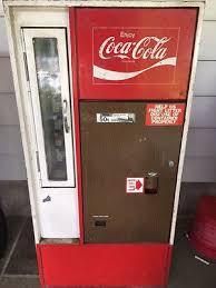 Soda Bottle Vending Machine Fascinating COCA COLA SODA Vintage Original Soda Bottle Vending Machine Vendo