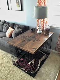 designer dog crate furniture room design plan. contemporary plan u0027direwolfu0027 dog crate table top check out the full project http intended designer furniture room design plan