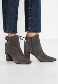 classic ankle boots dark grey
