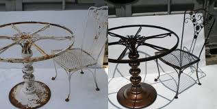 Comparing Outdoor Furniture Materials  Ritter LumberPowder Coated Outdoor Furniture
