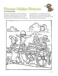 pioneer handcart clipart. pioneer handcart clip art. hidden picture clipart