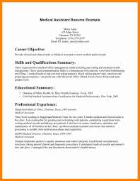 10 Medical Assistant Resume Objective New Hope Stream Wood