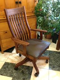 desk chairs oak swivel desk chair mission style office solid within measurements 1224 x 1632