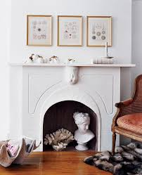 7 ways to style a summer fireplace