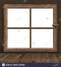 Fenster Holz Fenster Sprossen Vintage White Stockfoto Bild