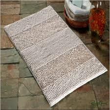 micro chenille rugs white