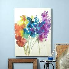 paint on canvas ideas for beginners canvas painting ideas abstract flowers canvas painting cool and easy
