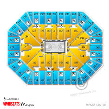 Target Center Minneapolis Mn Seating Chart Stage