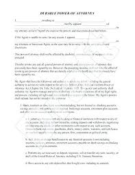 Durable Power Of Attorney Form Gorgeous Special Power Of Attorney Sample Property Template Skincenseco